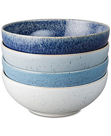 Denby Studio Blue Cereal Bowls, Set of 4
