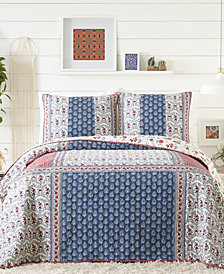 Jessica Simpson Galieri Cotton Quilt and Sham Collection