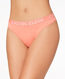 Calvin Klein CK Ultimate Cotton Thong QD3636