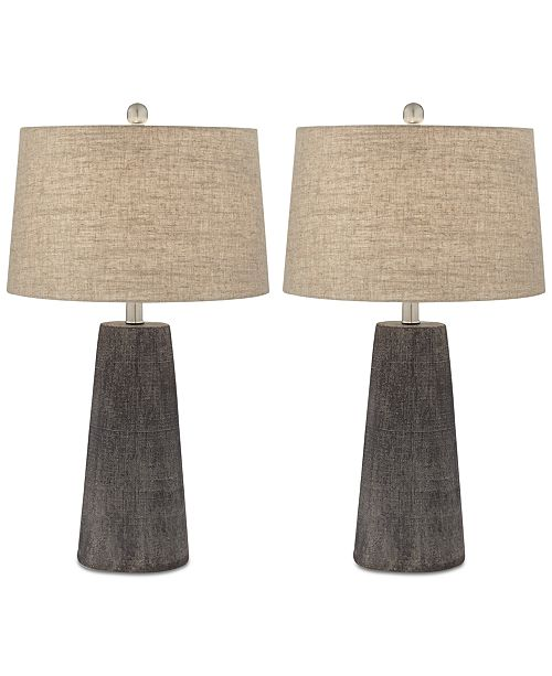 Macys Table Lamps Gorgeous Pacific Coast Set Of 60 Concrete Table Lamps Created For Macy's
