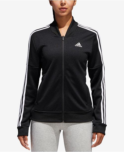 adidas Tricot Snap Track Jacket & Reviews Jackets