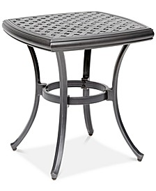 "22"" Outdoor End Table (Montclaire, Grove Hill II & Vintage II), Created For Macy's"