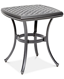 "22"" Outdoor End Table (Montclaire, Grove Hill II, Vintage II & Glenwood), Created For Macy's"