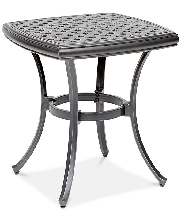 """Furniture 20"""" Outdoor End Table (Montclaire & Vintage II), Created for Macy's"""