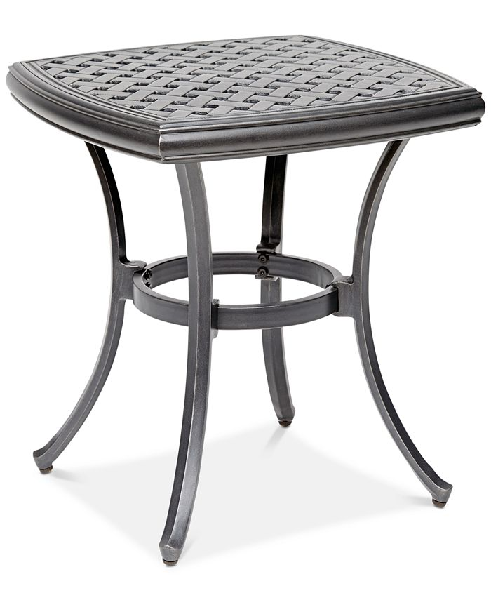 "Furniture - 20"" Outdoor End Table (Montclaire & Vintage II), Created For Macy's"