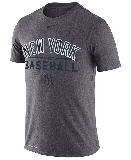 timeless design a4807 9001a Nike Men's New York Yankees Dry Practice T-Shirt & Reviews ...