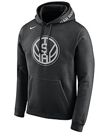 Nike Men's San Antonio Spurs City Club Fleece Hoodie