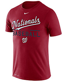 Nike Men's Washington Nationals Dry Practice T-Shirt