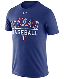 Nike Men's Texas Rangers Dry Practice T-Shirt
