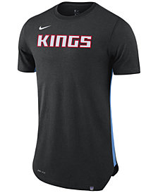 Nike Men's Sacramento Kings Alternate Hem Short Sleeve T-Shirt