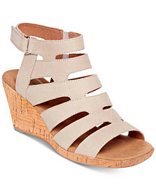 Rockport Briah Banded Sling Wedge Sandals