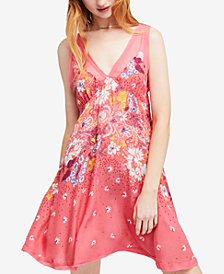 Free People Longwood Printed Slip Dress