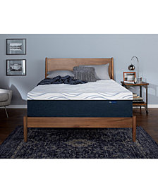 "Serta Perfect Sleeper 14"" Express Luxury Medium Firm Mattresses - Quick Ship, Mattress In A Box"