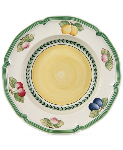Villeroy & Boch Dinnerware, French Garden Rim Soup Bowl