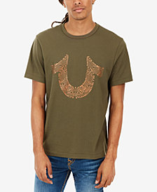True Religion Men's Horseshoe Logo-Print T-Shirt
