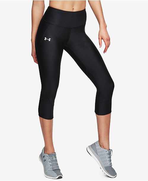 05482372a3 Under Armour Fly Fast HeatGear® Capri Workout Leggings & Reviews ...