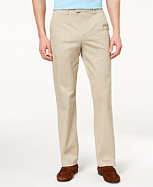Calvin Klein Men's Classic-Fit Stretch Twill Pants