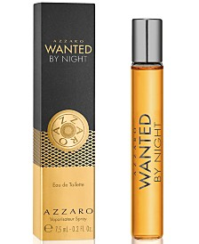 Choose your FREE Travel Spray with any $115 purchase from the Azzaro Wanted or Wanted by Night fragrance collection