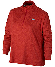 Nike Plus Size Dry Element Half-Zip Top