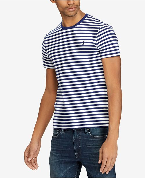 Men's Reviews Fit Striped Shirtamp; Polo T Ralph Lauren Classic CxQBosthrd