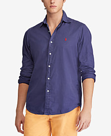 Polo Ralph Lauren Men's Big & Tall Classic Fit Shirt