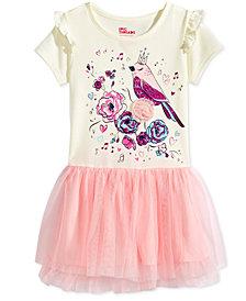 Epic Threads Bird-Graphic Tutu Dress, Little Girls, Created for Macy's