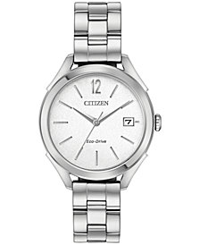 Citizen Drive From Citizen Eco-Drive Women's Stainless Steel Bracelet Watch 34mm