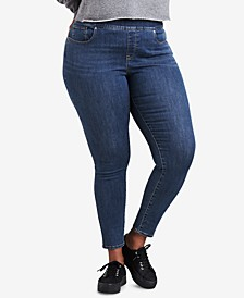Trendy Plus Size  Pull-On Jeggings