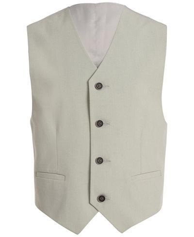 Calvin Klein Stretch Tick Weave Vest, Big Boys