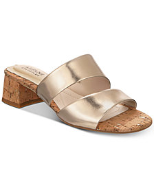 Alfani Women's Eviee Step 'N Flex Slide-On Sandals, Created for Macy's