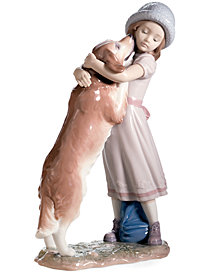 Lladro Collectible Figurine, A Warm Welcome