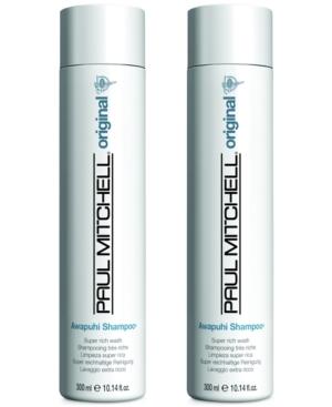 Image of Paul Mitchell Awapuhi Shampoo Duo (Two Items), 10.14-oz, from Purebeauty Salon & Spa