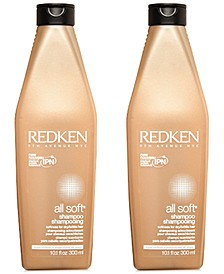 All Soft Shampoo Duo (Two Items), 10.1-oz., from PUREBEAUTY Salon & Spa