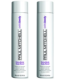 Extra-Body Daily Rinse Duo (Two Items), 10.14-oz., from PUREBEAUTY Salon & Spa