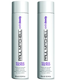 Paul Mitchell Extra-Body Daily Rinse Duo (Two Items), 10.14-oz., from PUREBEAUTY Salon & Spa
