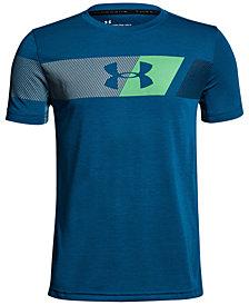 Under Armour Graphic-Print Threadborne T-Shirt, Big Boys
