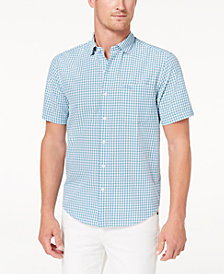 Tommy Bahama Men's Key Largo Check Pima Cotton Seersucker Shirt