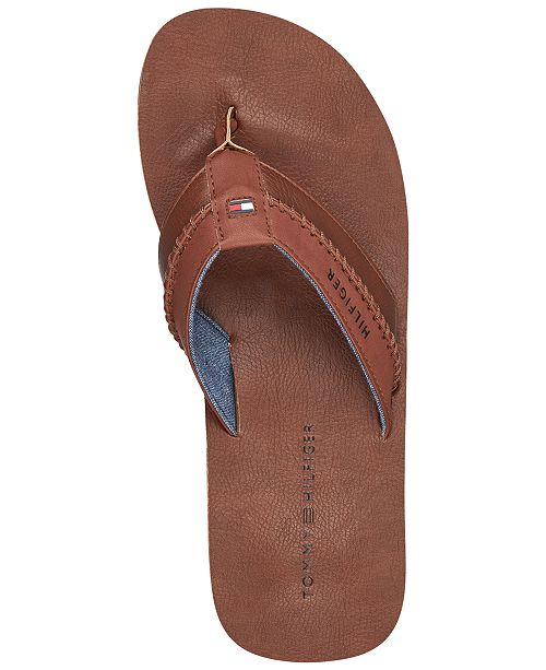 a579ab20f2bf Tommy Hilfiger Men s Dilly Thong Sandals   Reviews - All Men s Shoes ...