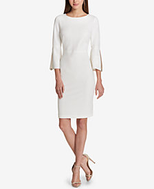 Tommy Hilfiger Scuba Sheath Dress