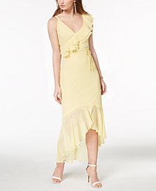 Disney Princess Juniors' Ruffled One-Shoulder Dress