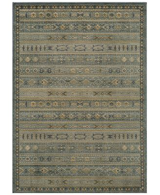 CLOSEOUT! Momeni Rugs, Belmont BE-04 Light Blue