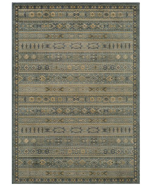 CLOSEOUT! Area Rug, Belmont  BE-04 Light Blue 2'3