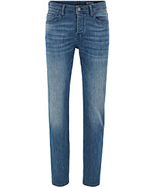 BOSS Men's Tapered-Fit Stretch Jeans
