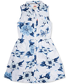 Levi's® Floral-Print Dress, Big Girls