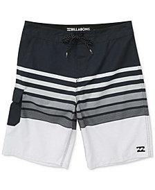 Billabong All Day OG Stripe Swim Trunks, Big Boys