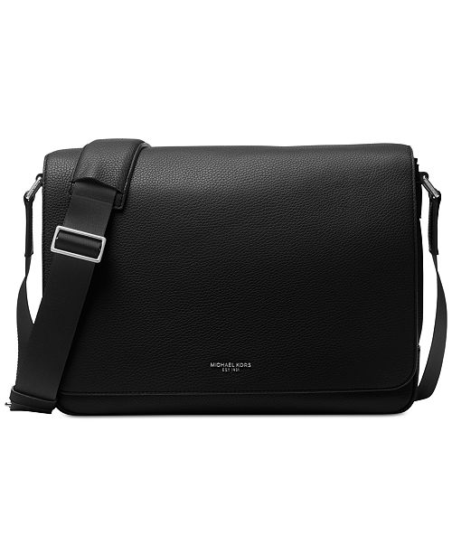 Product Details Every Day Is A Little More Stylish With This Sleek Messenger Bag From Michael Kors