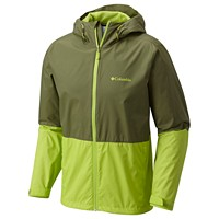 Columbia Mens Roan Mountain Rain Jacket