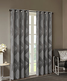 SunSmart Bentley Ogee Jacquard Total Blackout Window Panels