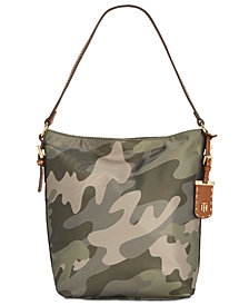 Tommy Hilfiger Julia Convertible Camo Hobo