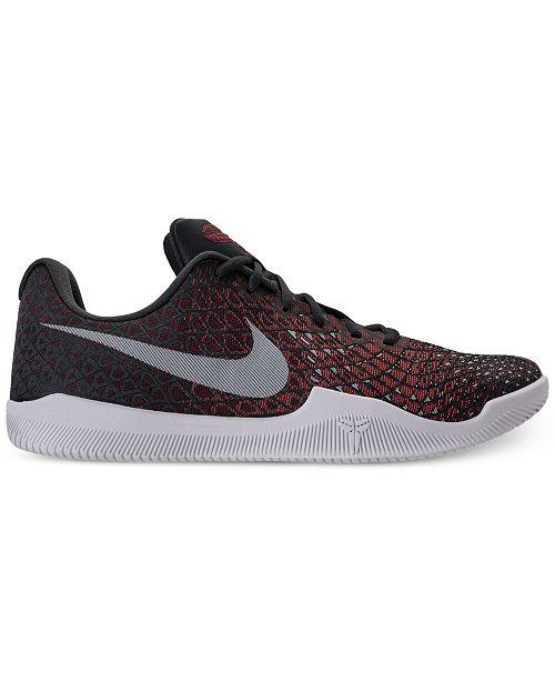 52e78f8f9a5f Nike Men s Kobe Mamba Instinct Basketball Sneakers from Finish Line - Finish  Line Athletic Shoes - Men - Macy s